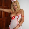This Tranny nurse is ready to cure that bump in your pants